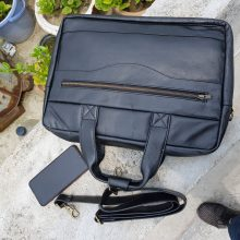 Genuine Leather Laptop Bag /Office Bags for Men Document