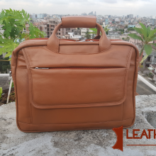 Multi Functional And Convertible leather Office Bag Also Backpack