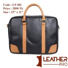 100% Genuine Leather Laptop Carry/Official Bag