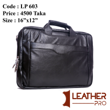Multi Functional And Convertible 100% Pu leather Office Bag