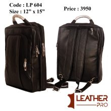 New Leather Backpack for Men
