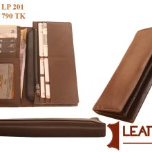 New Design 100% Genuine Leather long Wallet