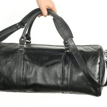 High Quality Genuine Cow Leather Travel Bag